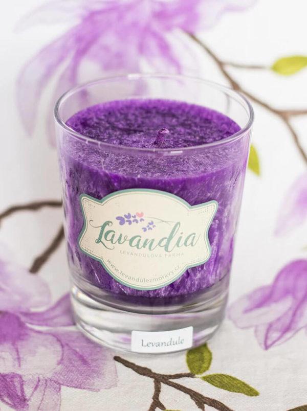 svíčka Lavandia